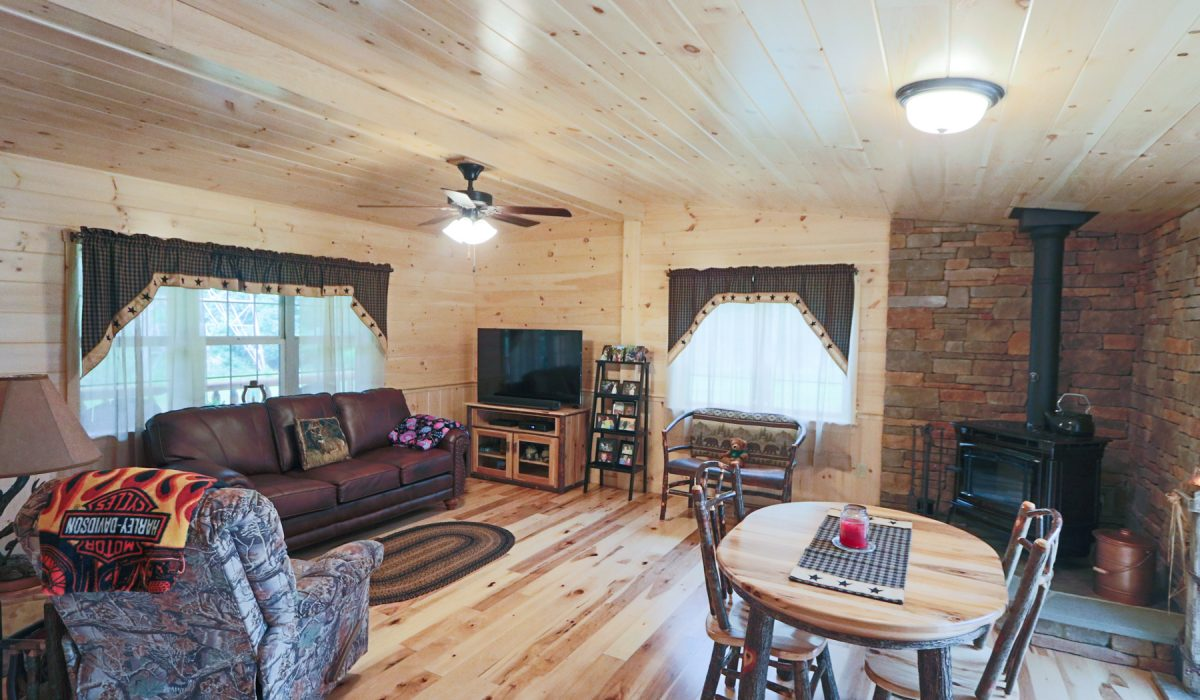 inside prefab cabins in tennessee