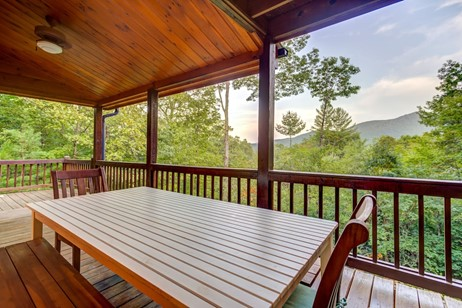 Log Cabins in South Carolina with a view