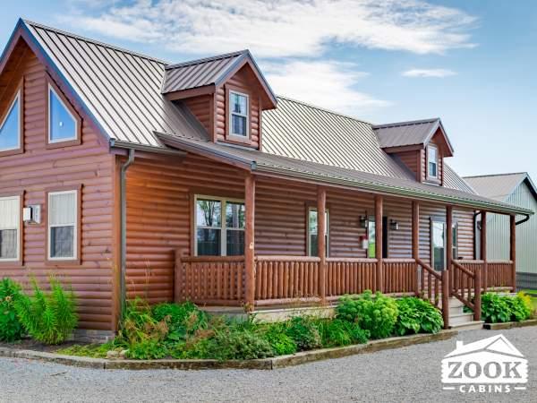 Modular Amish Built Log Cabins in South Carolina