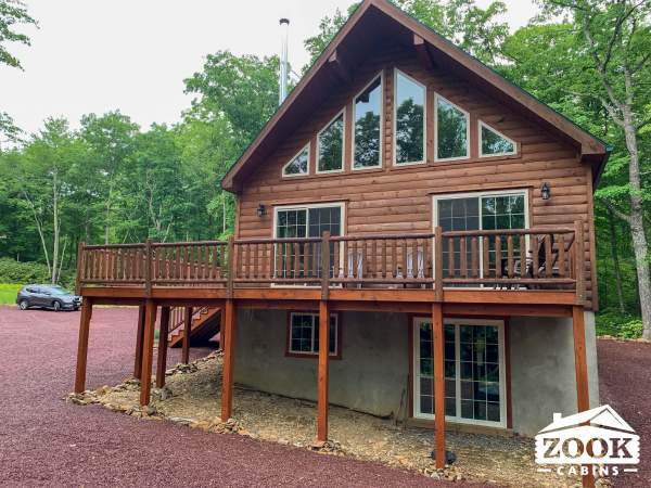 Modular Log Cabins in Virginia