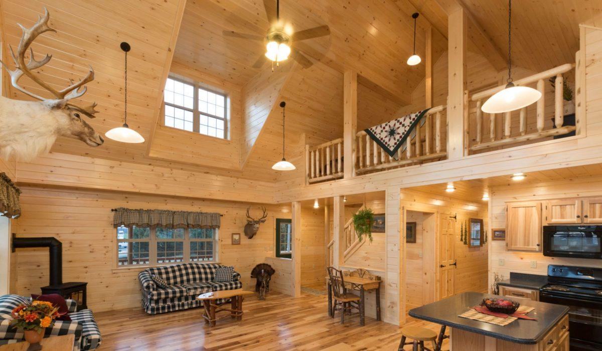 interior modular log homes ky