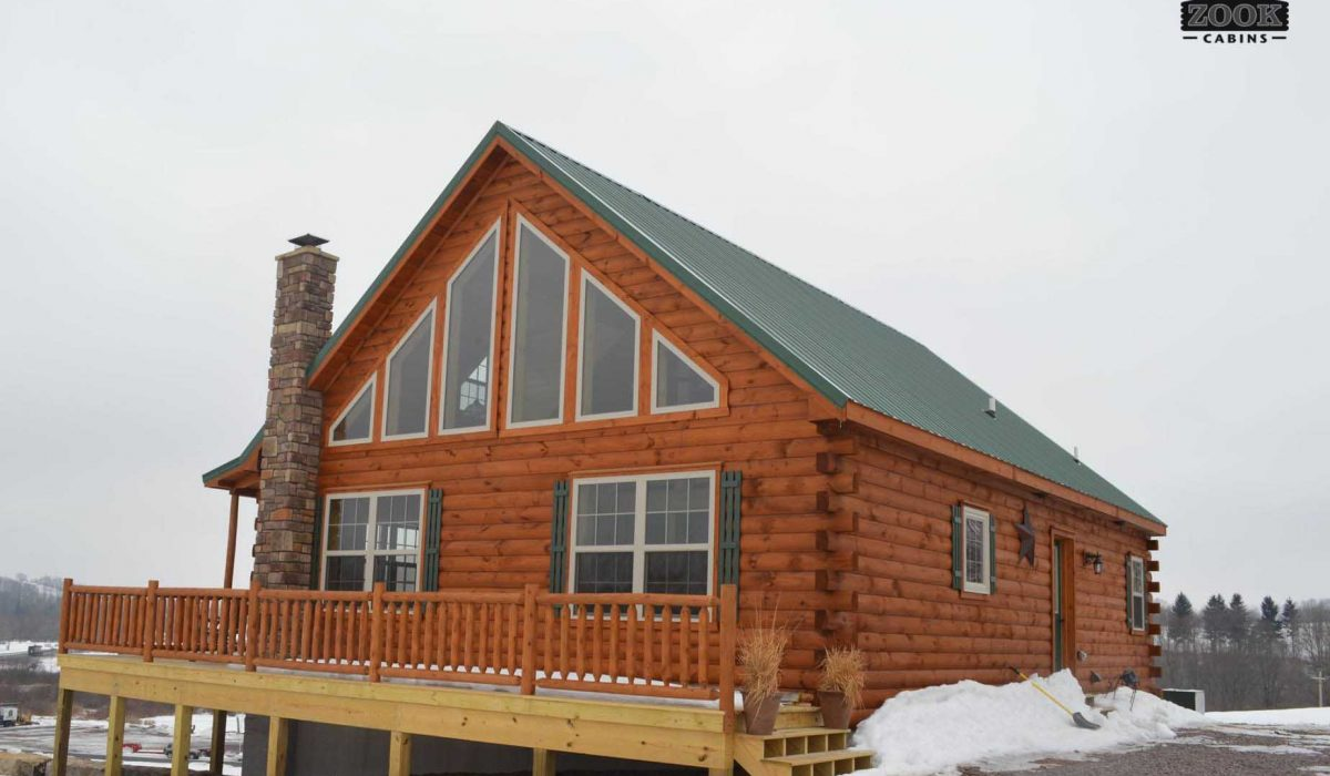 modular log homes ky