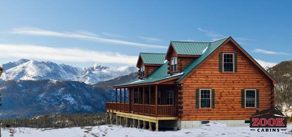 modular prefab cabin for wyoming property