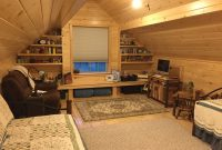 loft of modular cabins for sale in indiana