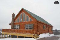 prefab log house
