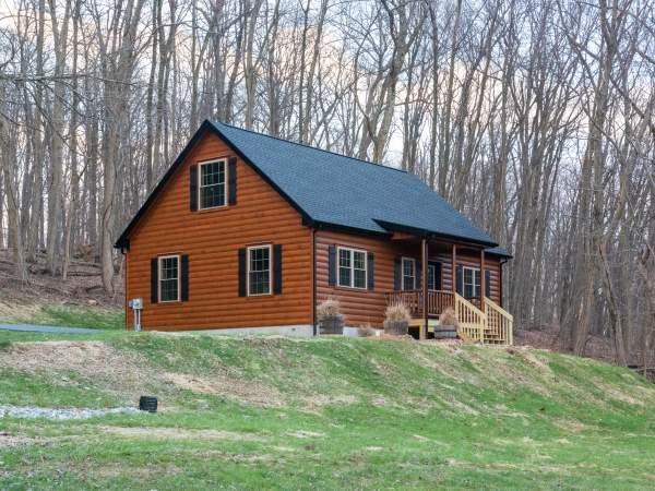 Mountaineer Log Cabin Homr Zook Cabins