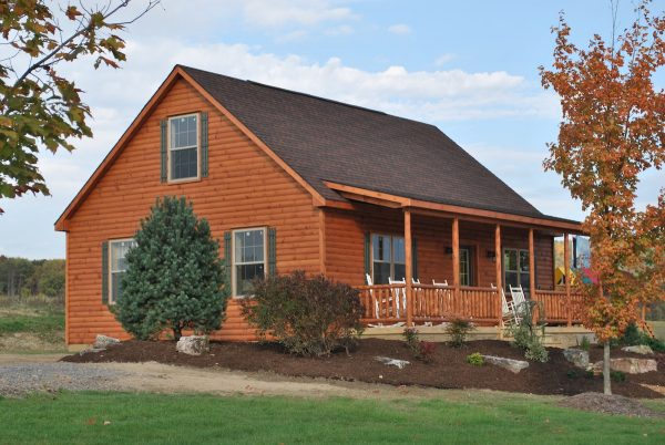 amish prefab cabins mountaineer style log homes for sale