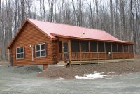 amish log home images
