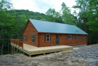 amish prefab cabins for sale in the muskateer log homes model