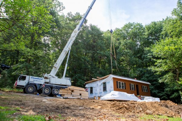 Zook Cabins Install