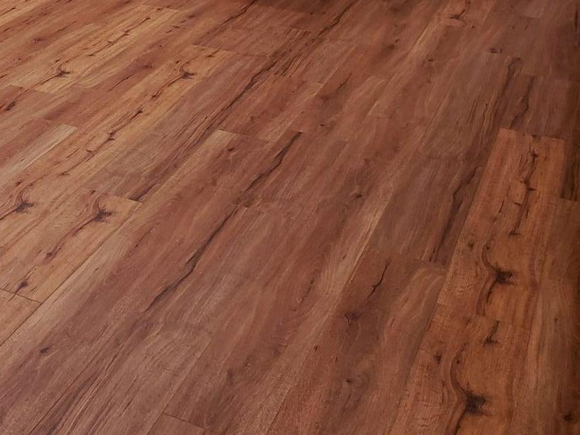 Vinyl Plank Hemlock Flooring for Modular Cabin