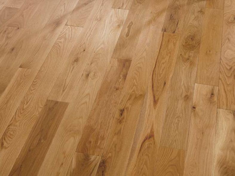 Oak flooring for log cabins