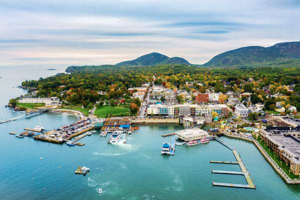 bar harbour in maine