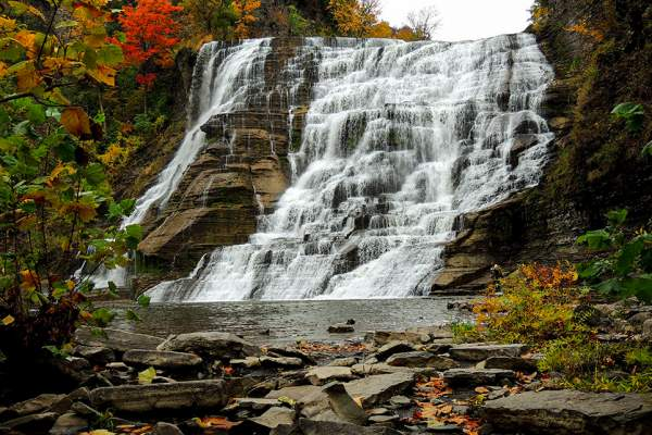 ithaca falls in ithaca new york