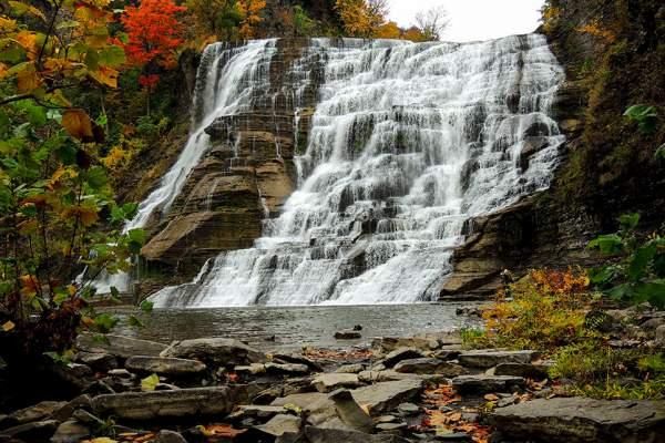 ithaca falls in ithaca new york