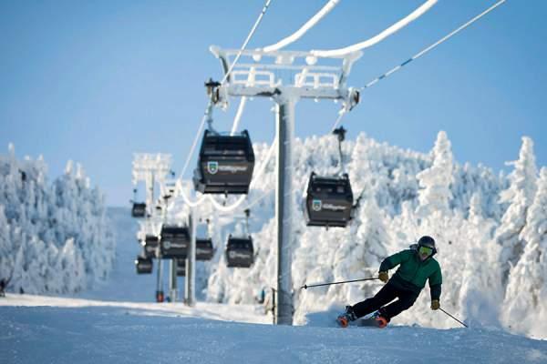 killington vermont great for skiing