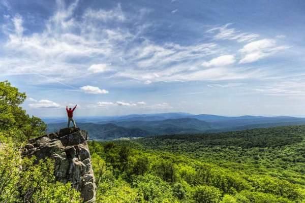 scenery overlook in virginia