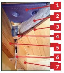 log home construction details