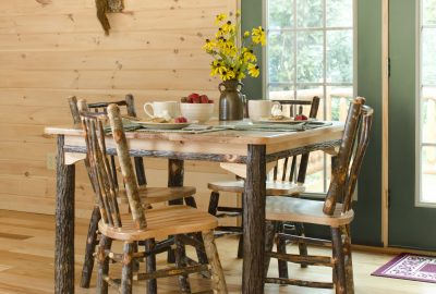creative living log cabins hickory furniture