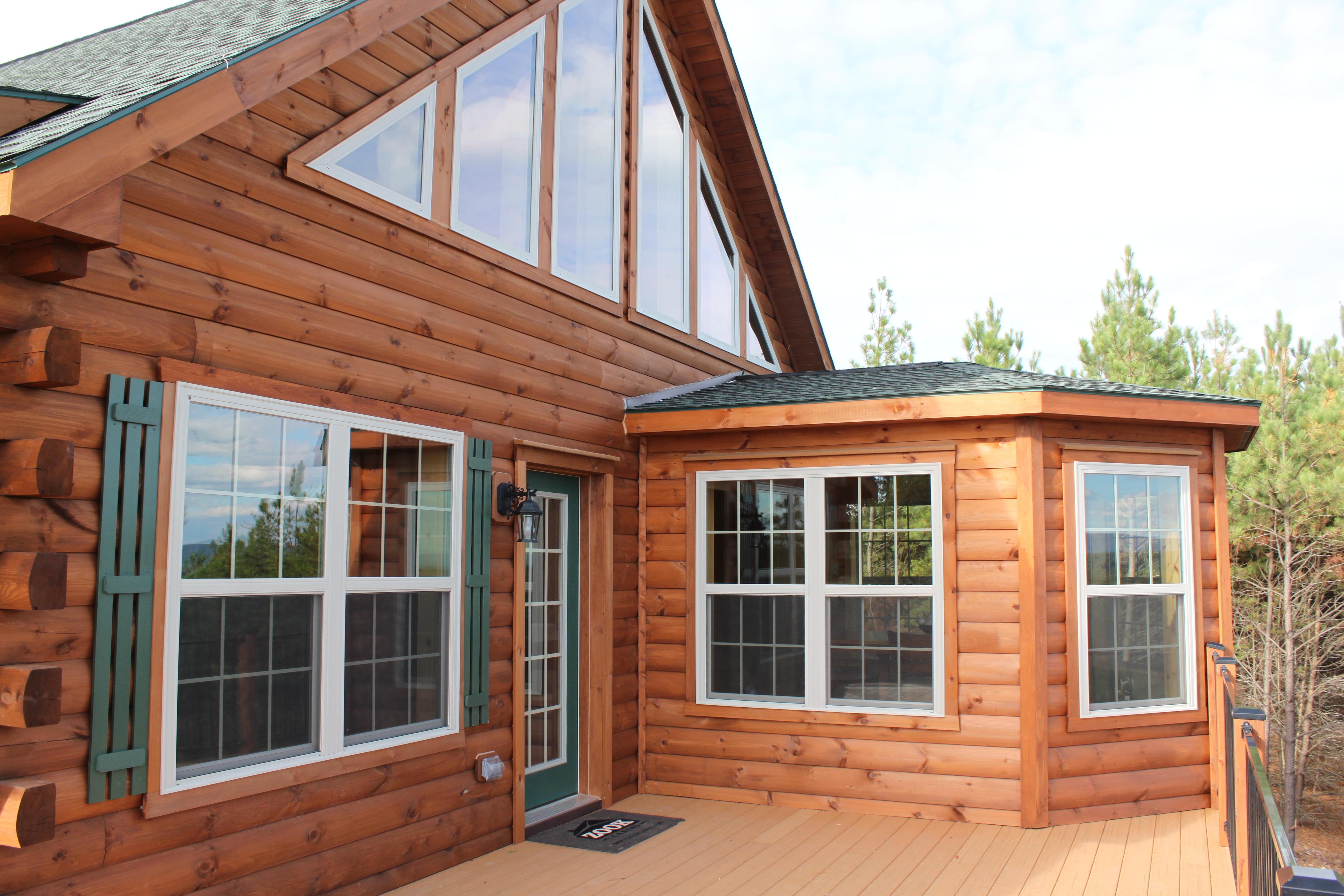 custom cabin building ideas