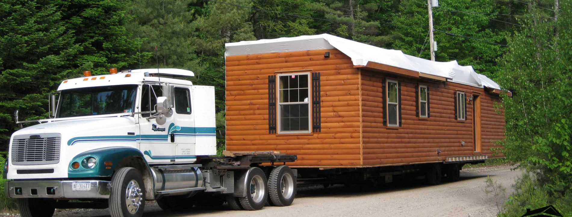 cabins delivered