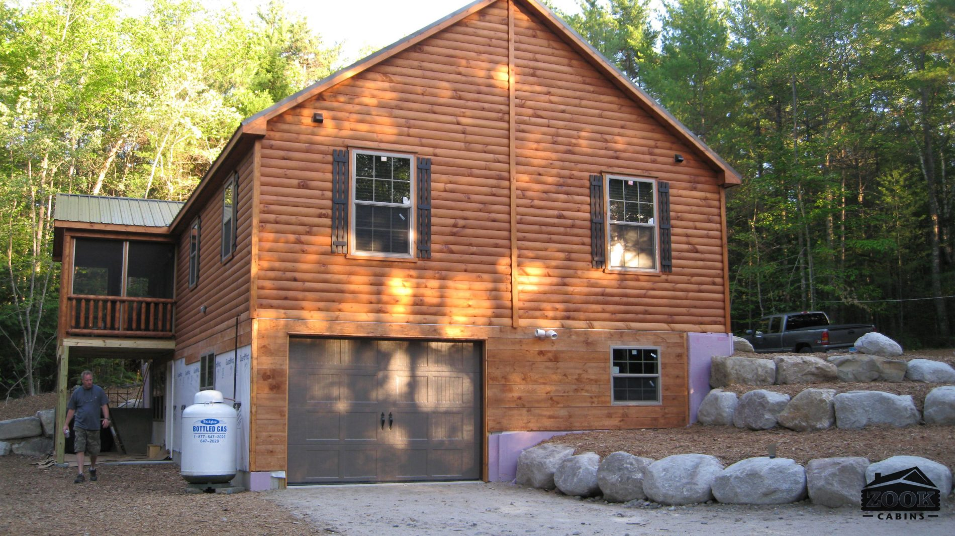 Delivery Cabins Log Home Kits Modular Homes Zook