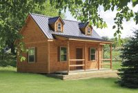 cape cod 2 prefab log cabin