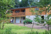 frontier 2 prefab log home