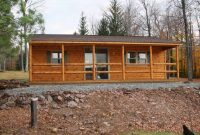 lincoln prefab log cabin