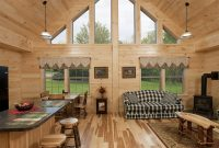 mountaineer deluxe 19 prefab log home