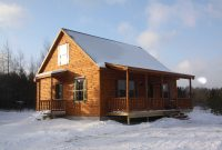 mountaineer deluxe 20 prefab log home