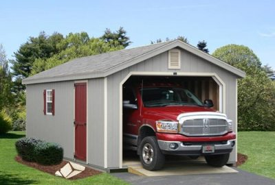 a frame garage style for log cabin garages