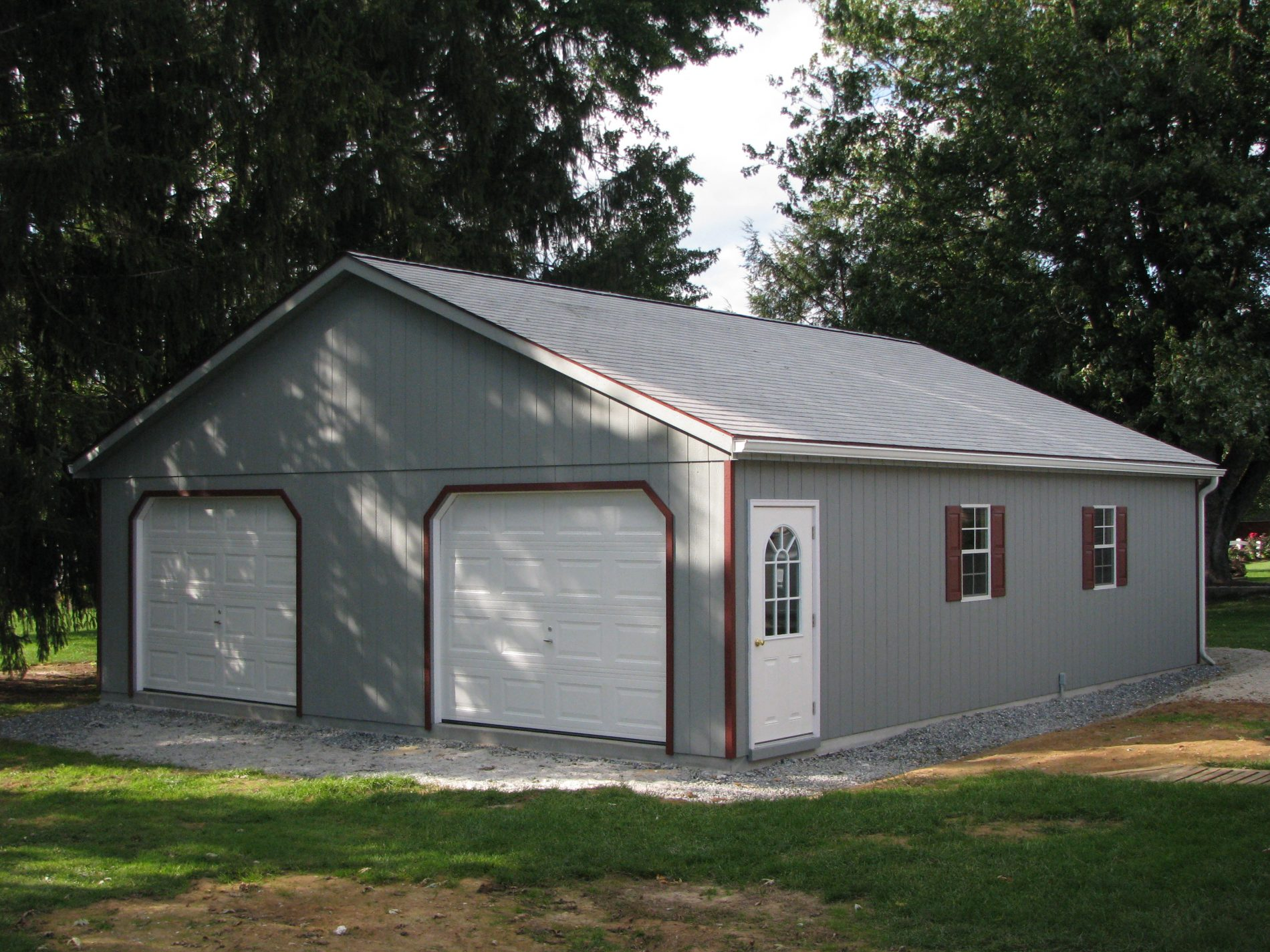 High roof garage prefab garage kits and installation by for Sip garage kits