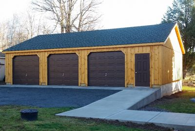 log cabin garages for sale 1