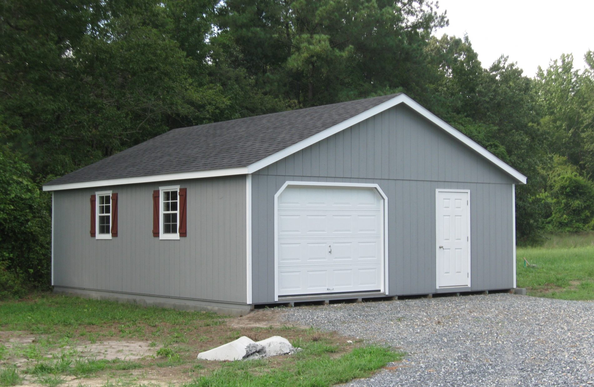 High Roof Garage Prefab Garage Kits And Installation By