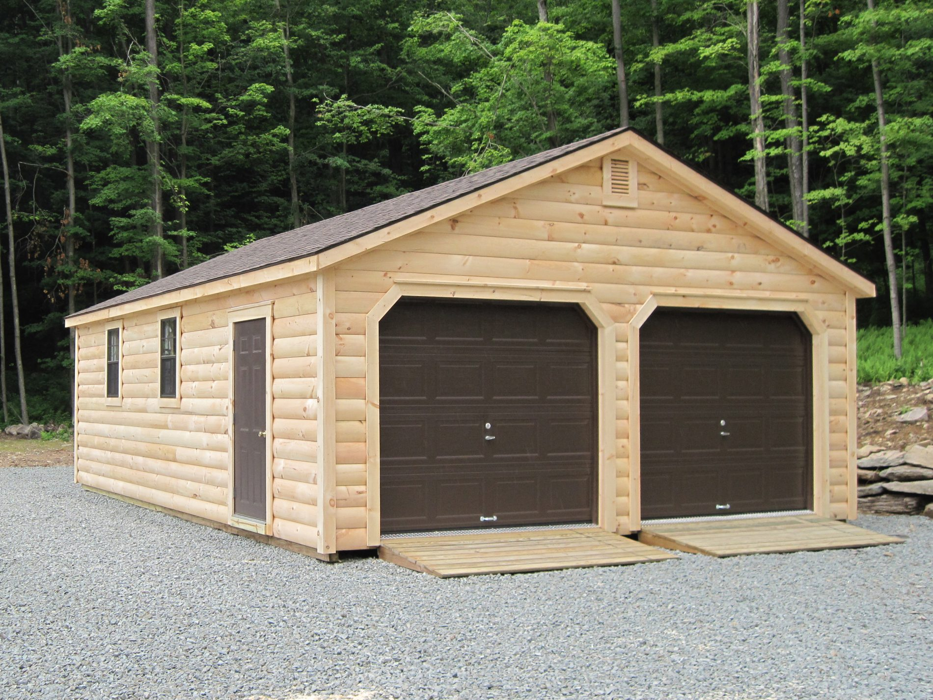 Car Garage For Sale >> Double Wide Garages 2 Car Garages For Sale Zook Cabins