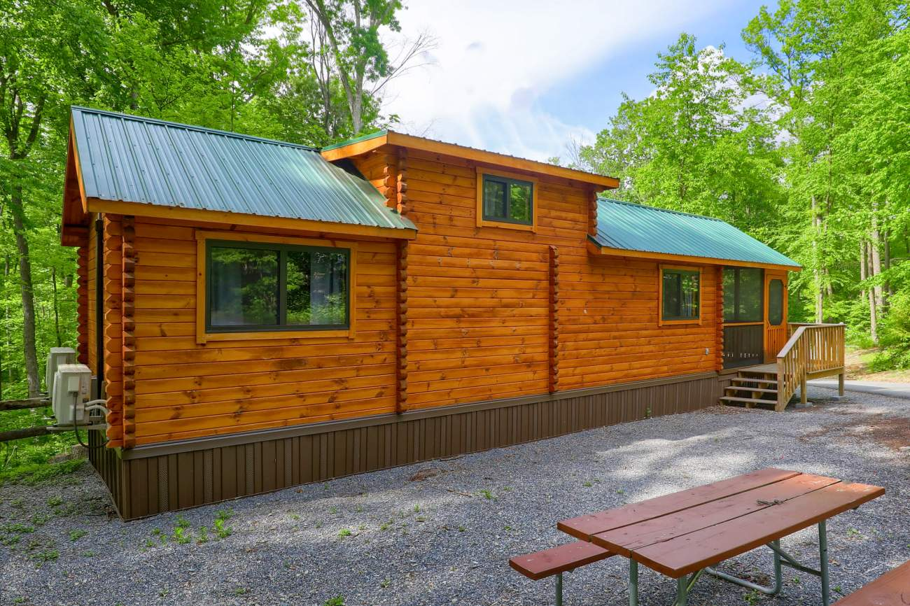 Park Model Log Homes by Zook Cabins