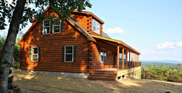 better built Log Cabins for living