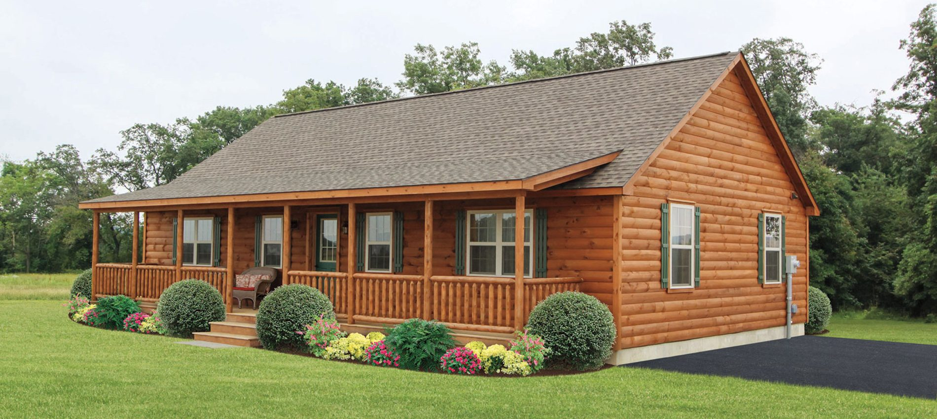 custom log cabins homes