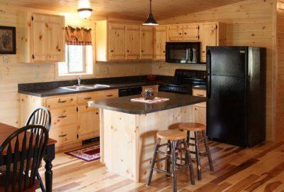 cabin basic pine cabinets