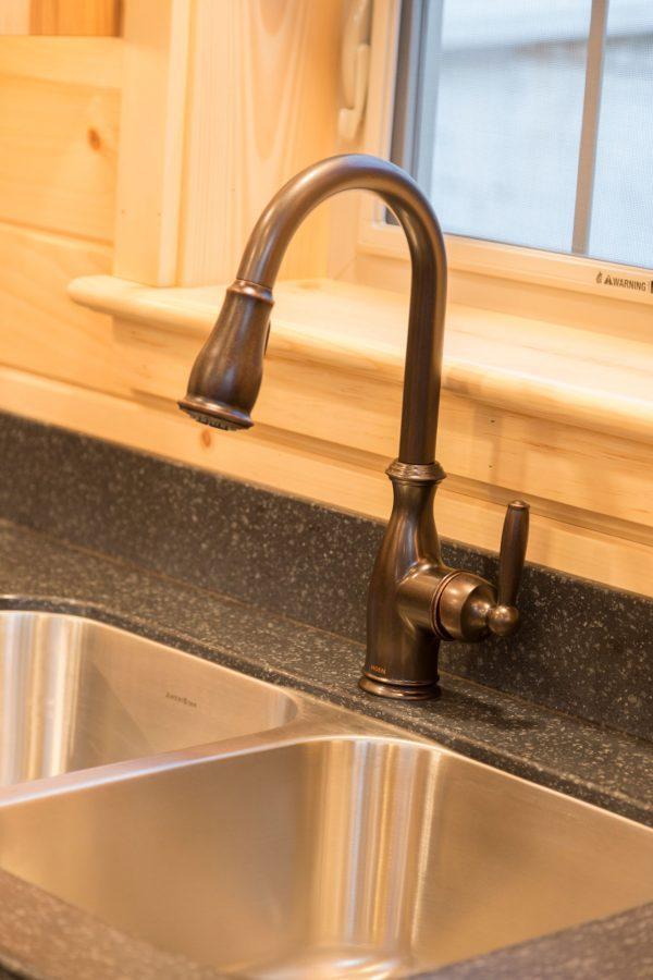 cabin bronze faucet