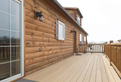 cabin composite decking