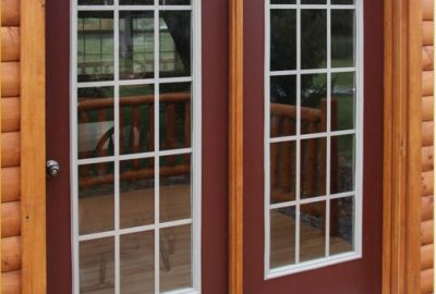 cabin french doors