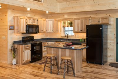 cabin hickory beaded cabinets