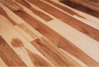 cabin hickory flooring