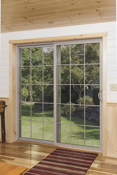 cabin patio doors