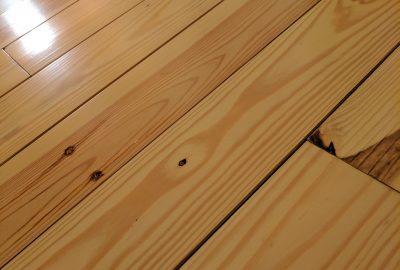 cabin pine flooring