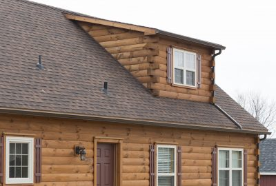 cabin shed dormer