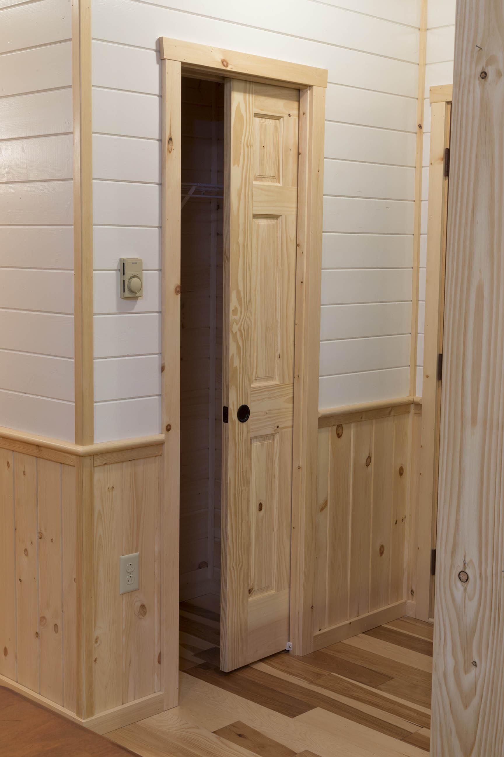 pocket cabin interior doors