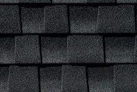 prefab log cabin roofing asphalt charcoal